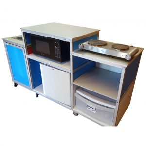 Mobile Kitchen with Portable Sink PK- 001