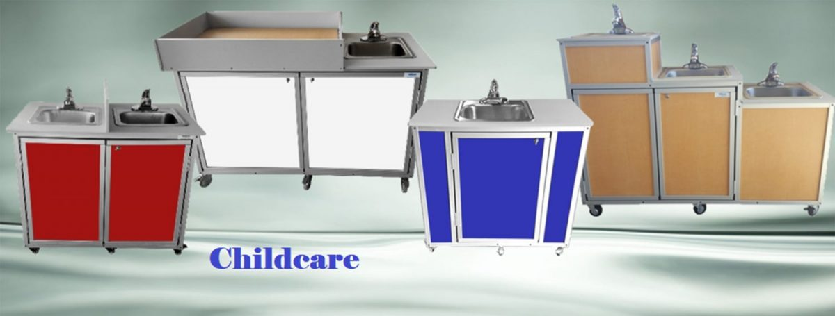 Portable Sink for Daycare & Schools