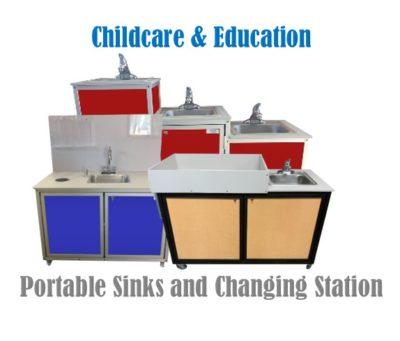 Childcare Portable Sinks