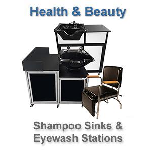 Shampoo Sink and Eyewash Station