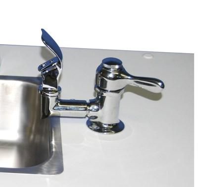 Drinking fountain & hand washing sink both