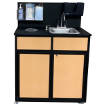 Portable Handwashing and Sanitizing Station -Single Basin Self Contained Model: HWS-009S