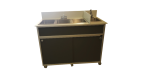 Four Deep Compartment Portable Sink  Model: PSE-2004R