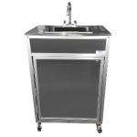 NSF Certified Stainless Steel Single Basin Portable Sink  Model: NS-009A