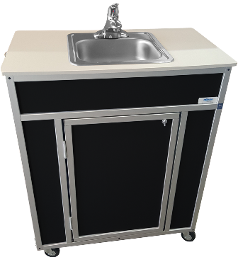 Portable Unit Medical Sink Cabinet