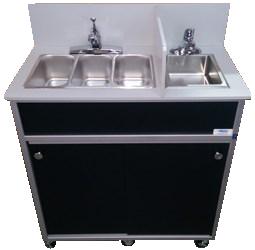 Four Compact Basins Portable Sink : NS-004S