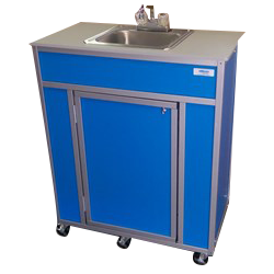 Single Basin Self Contained Portable Sink Model : NS-009S