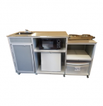 Mobile Kitchen with Portable Sink –  Model: PK-001