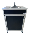 Single Basin Self Contained Portable Sink  Model: PSE-009S