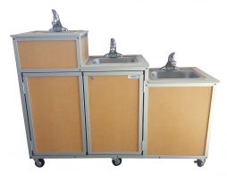 Three Level Portable Self contained Sink : PSE-0123