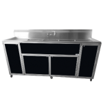 Commercial Three Deep Basin Portable Sink  Model: PSE-2003LA