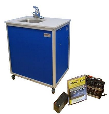 One Basin Sink Rent Portable Sink