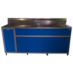 Commercial Three Deep Basin Portable Sink  Model: PSE-2003LA