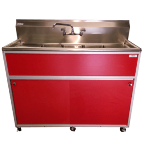 Commercial Three Bowl Sink : PSE-2003SD