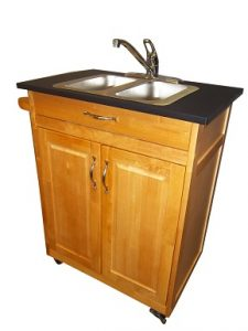 Single Basin Self Contained Portable Sink