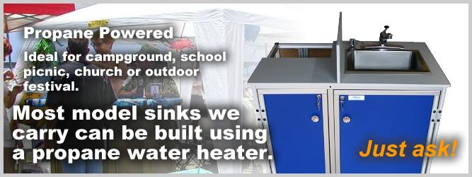 mobile sink unit