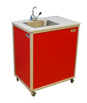 Single Basin Hand Pump Portable Sink