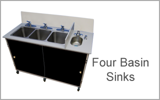 four basin sink