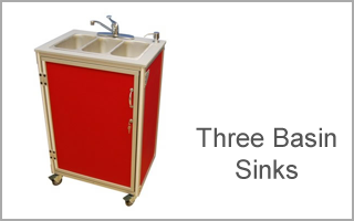 three basin sink