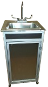 Stainless Steel Single Basin Portable Sink : PSE – 009A