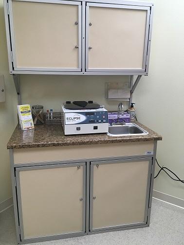 Medical Cabinet With Portable Sink Model Number Psm 001