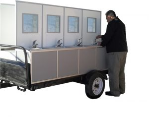 Portable Sink Trailer